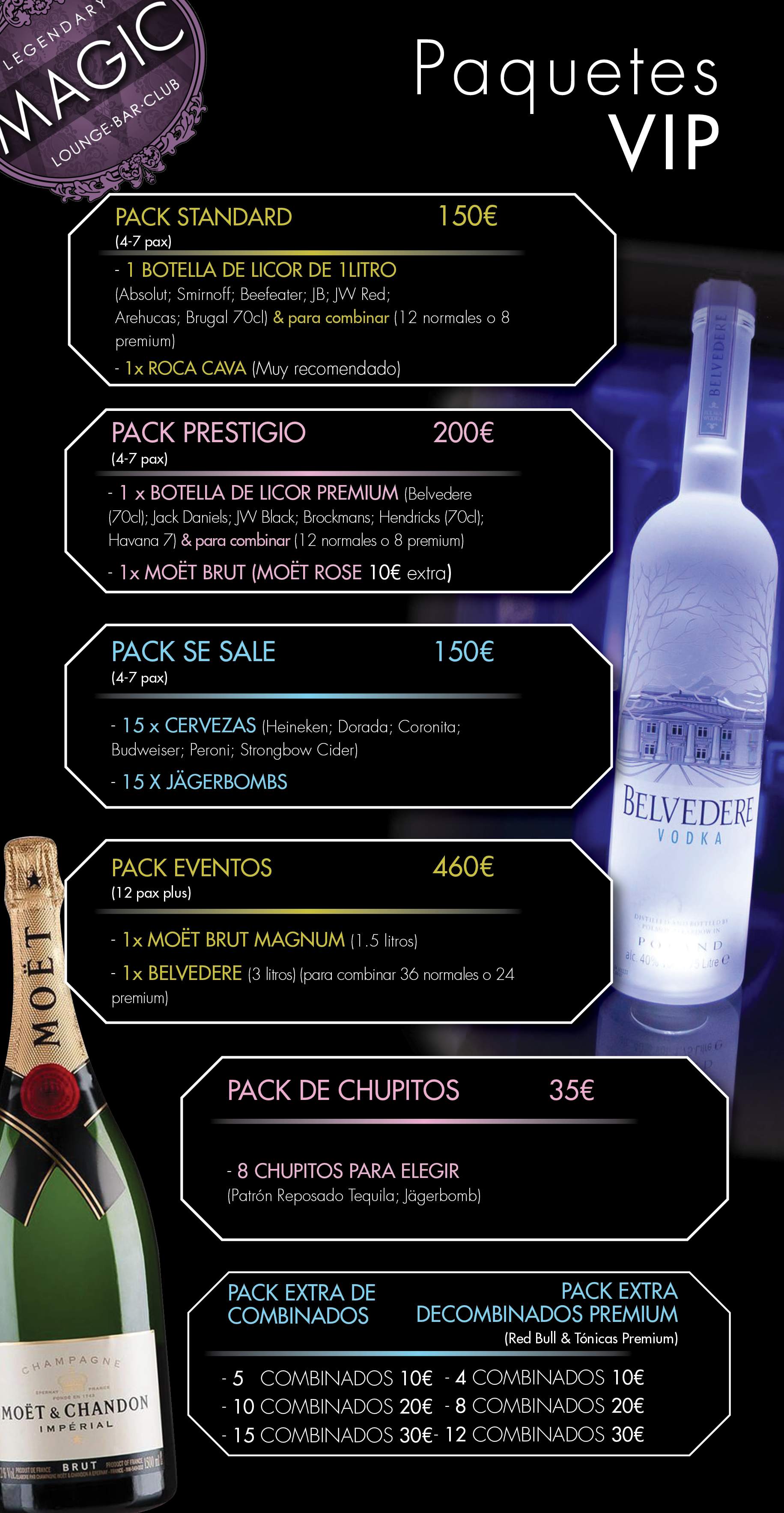 Magic Drinks Packages